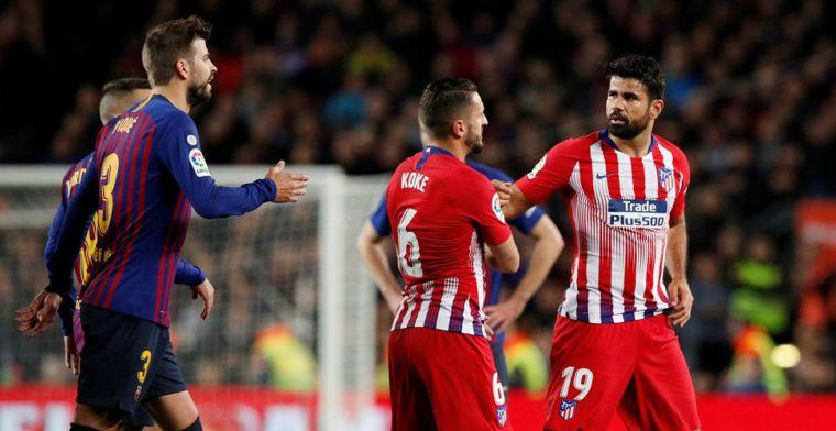 Seizoen Costa nu al ten einde: Spaanse bond legt schorsing van 8 (!) duels op