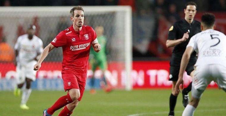Brama 'offert zich op' voor FC Twente: 'Titel belangrijker dan mijn achillespezen'