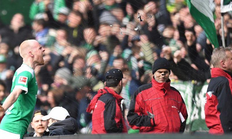 Afbeelding: Werder Bremen blijft Leverkusen van Bosz voor dankzij treffer van Klaassen