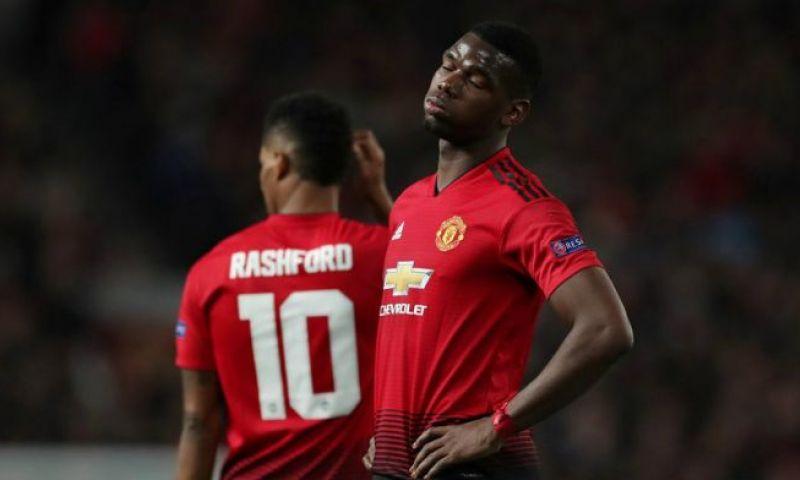 Afbeelding: Pogba scoort twee keer vanaf de stip en schenkt United daarmee een driepunter
