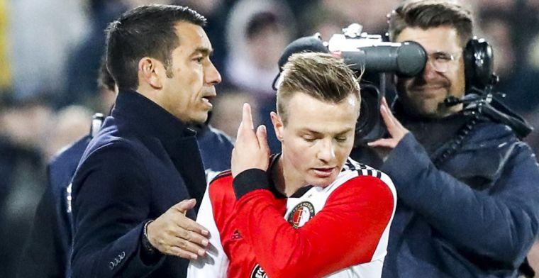 Feyenoord gaat Clasie straffen; middenvelder diep door het stof