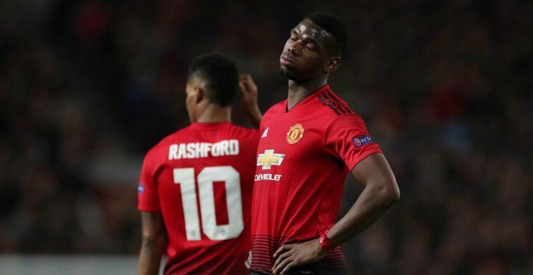 Pogba scoort twee keer vanaf de stip en schenkt United daarmee een driepunter