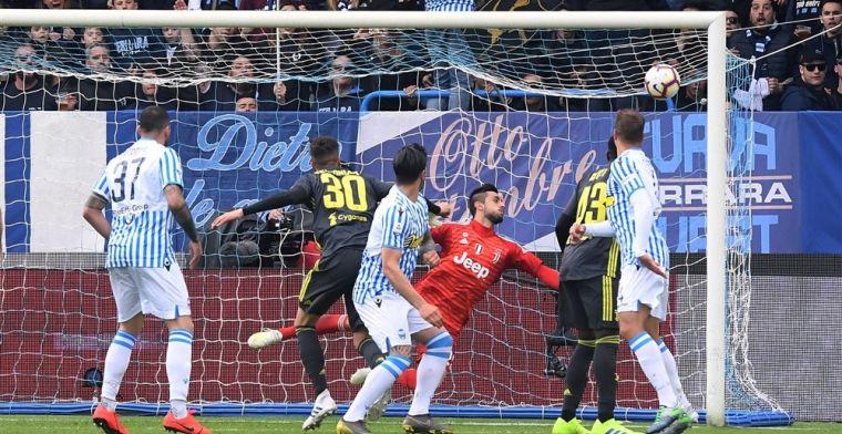 B-ploeg van Juventus gaat onderuit in Ferrara en moet kampioensfeest uitstellen