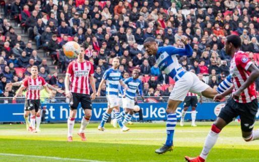 Afbeelding: PSV wint nipt van De Graafschap en ziet verschil met Ajax verder oplopen