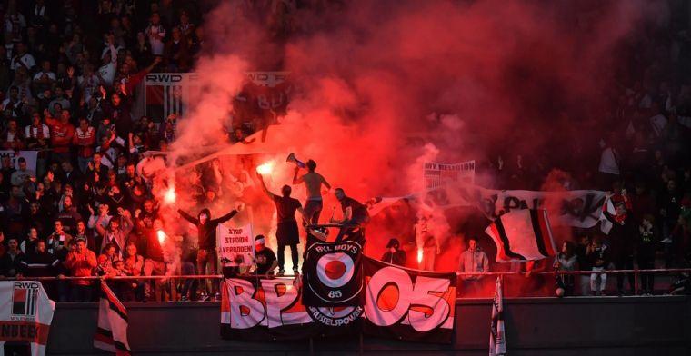 Niet alleen bij Anderlecht, ook supporters RWDM protesteren na slechte resultaten