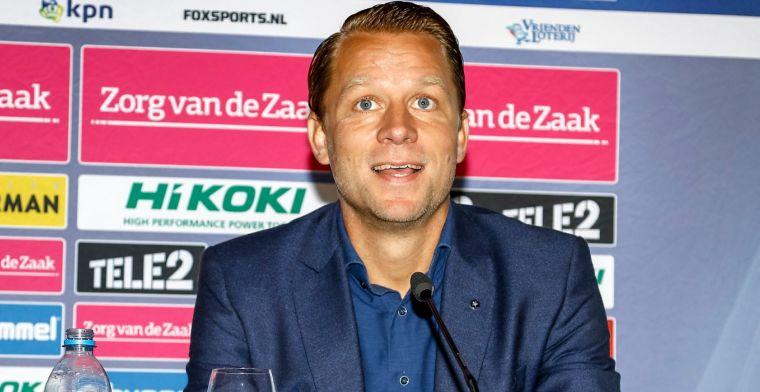 'Zuidam heeft gesprekken gevoerd met Feyenoord, maar hij heeft geweigerd'