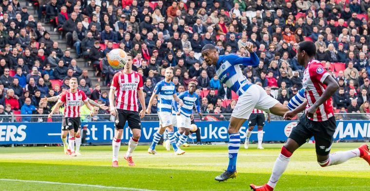 PSV wint nipt van De Graafschap en ziet verschil met Ajax verder oplopen