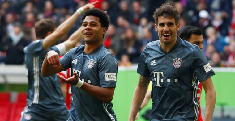 Bayern München scoort vier keer en neemt koppositie weer over van Dortmund