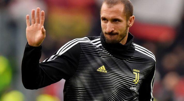 'Aderlating voor Juventus: Chiellini mist ook returnwedstrijd tegen Ajax'