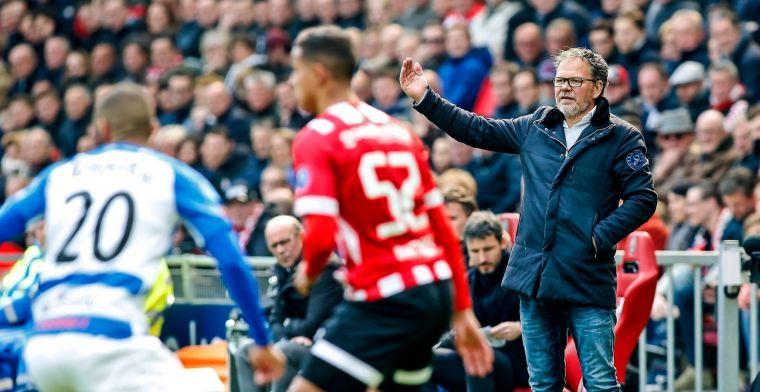 De Jong 'geraakt': 'Daarom is het ook humor dat PSV nu tijd gaat rekken'