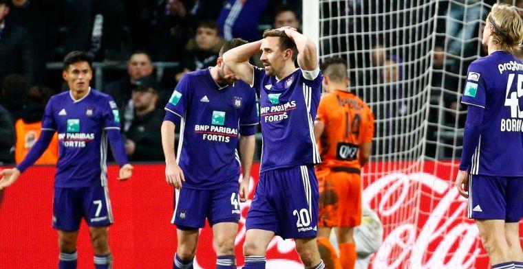 Anderlecht zit niet op zijn plaats in Play-Off 1: Het is een vergiftigd geschenk