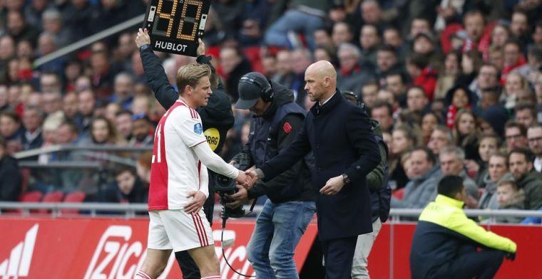Ajax op volle sterkte naar Juventus: ook De Jong is van de partij