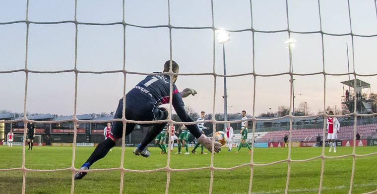 Jong Ajax draait warm voor bezoek van FC Twente: vijf goals tegen Go Ahead Eagles