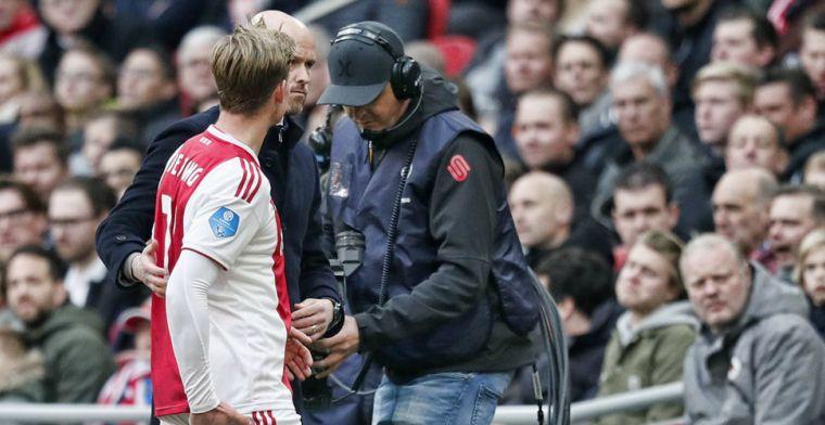 Ajax 'zo goed als zeker' mét Frenkie de Jong tegen Juventus: Het gaat goed
