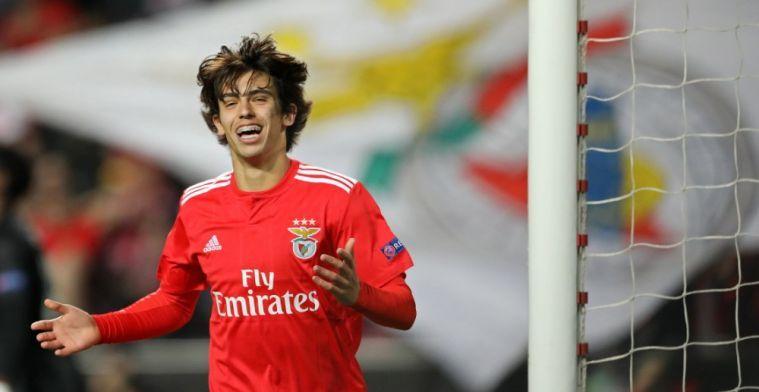 'Juventus wil Benfica-wonderkind en praat dinsdag al met Mendes: Ronaldo troef'