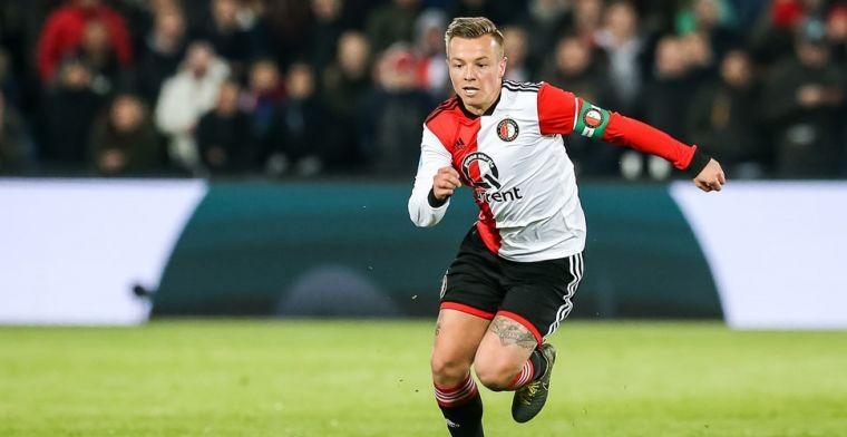 Clasie bezig aan laatste maanden bij Feyenoord: 'Speelt mee in mijn hoofd'