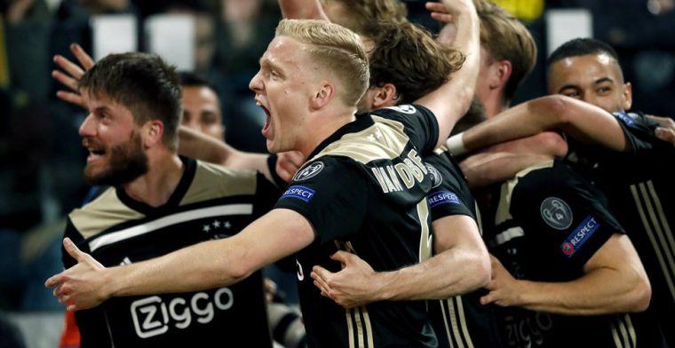 Lof uit binnen- en buitenland voor Ajax: 'Beste team dat ik ooit heb gezien'