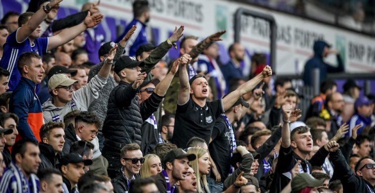 'Anderlecht moet nieuwe boete vrezen na spreekkoren van fans tegen Club Brugge'
