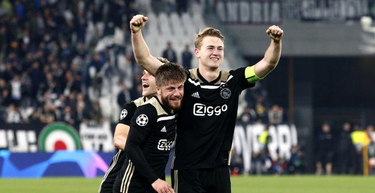 Driessen is om en gelooft in Champions League-winst Ajax: 'Juve gekleineerd'
