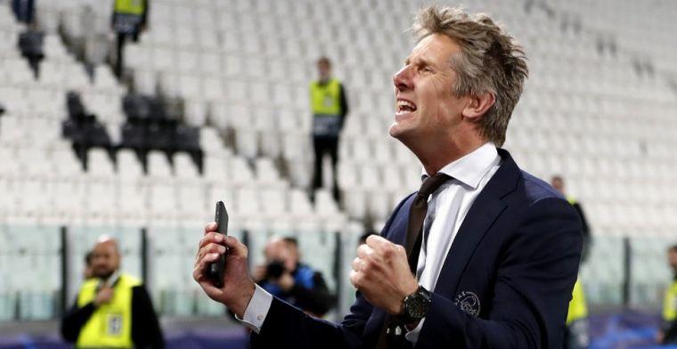 Van der Sar ziet Ajax grens van 90 miljoen slechten: 'Geld interesseert me niet'