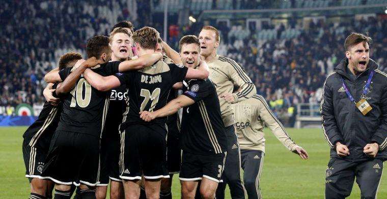 Buitenlandse pers extatisch: 'David won één keer van Goliath, Ajax flikt het wéér'