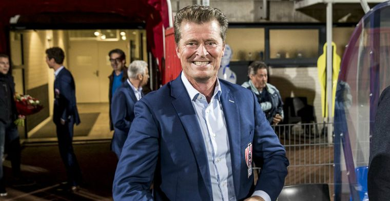 'We zullen in augustus zeker niet honderd procent klaar zijn voor de Eredivisie'