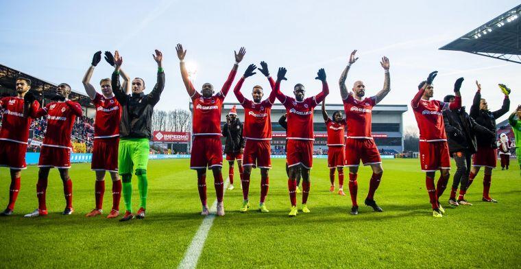 Antwerp-speler had meer verwacht: Veel gespeeld, maar ik ben niet tevreden