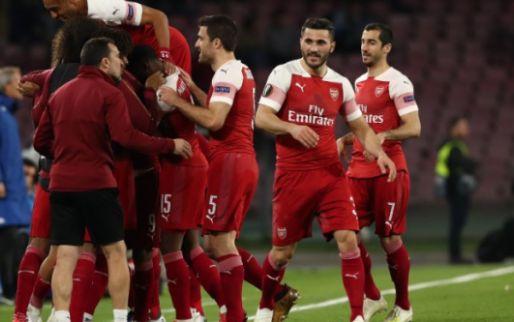 Afbeelding: Europa League: Arsenal, Chelsea, Frankfurt en Valencia naar halve finales