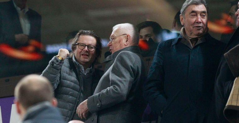 Eddy Merckx geraakt door crisis bij Anderlecht: Dat is natuurlijk schandalig