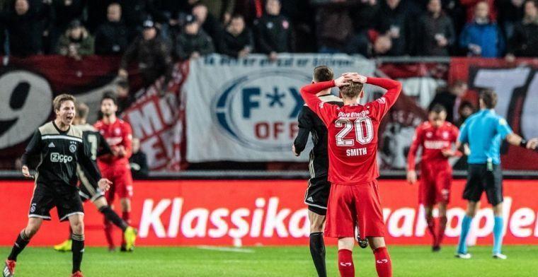 Angst leidt tot verbieden Jong Ajax-Twente: 'Ajax-fans verdedigen territorium'