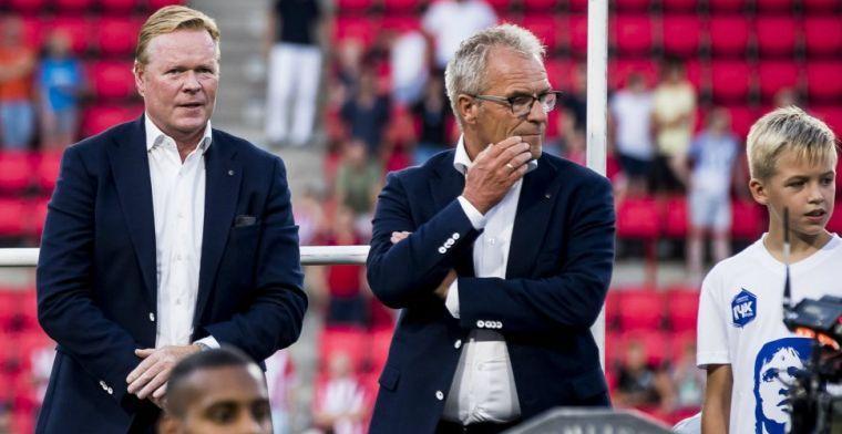 KNVB-directeur Gudde: 'Voor Eerste Divisie-club hetzelfde gedaan als voor Ajax'
