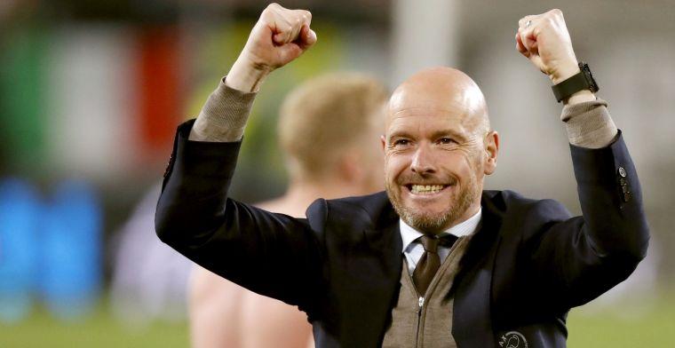 Ajax wil Ten Hag belonen voor droomseizoen: Goed voor de club