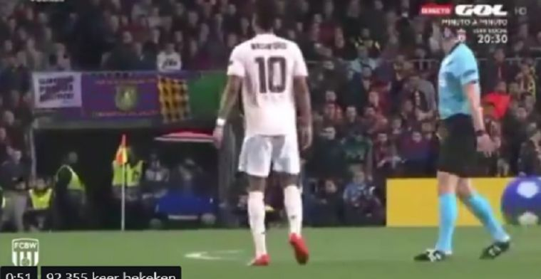 Rashford gooit papiertje Solksjaer weg en Barça-goalie Ter Stegen leest het