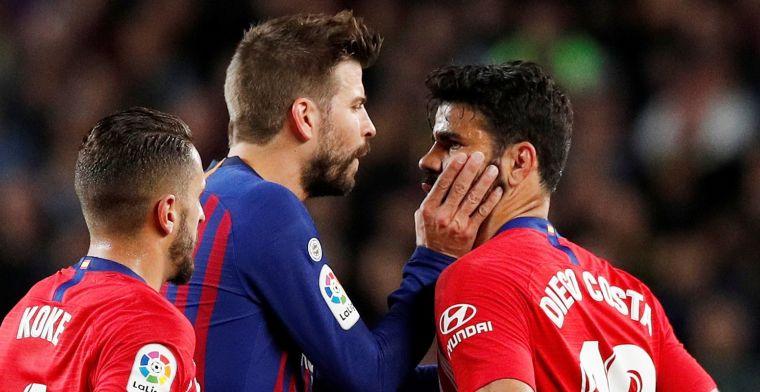 'Costa op ramkoers bij Atlético: enfant terrible wil na straf niet trainen'