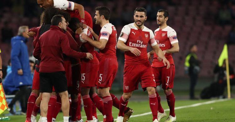 Europa League: Arsenal, Chelsea, Frankfurt en Valencia naar halve finales