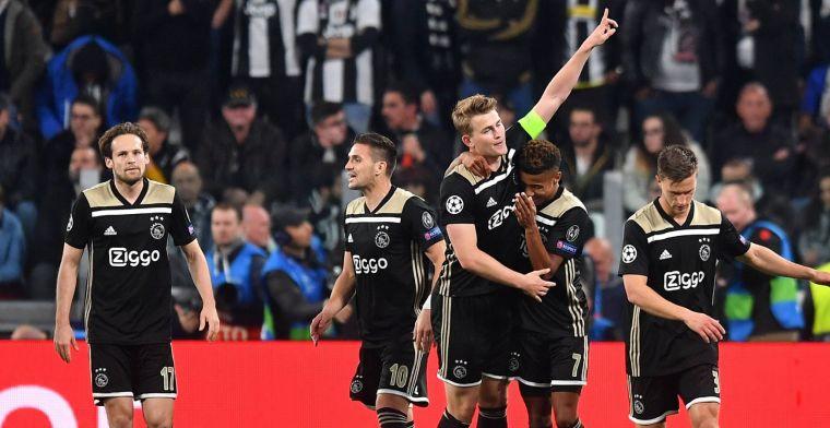 Zelfs Van Zweden juicht voor 'kwallenclub' Ajax: Fucking hell, wat een niveau!