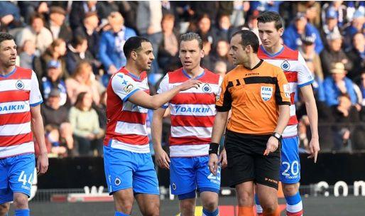 Afbeelding: 'Club Brugge genekt door De Bleeckere, strafschop van Genk was onterecht'