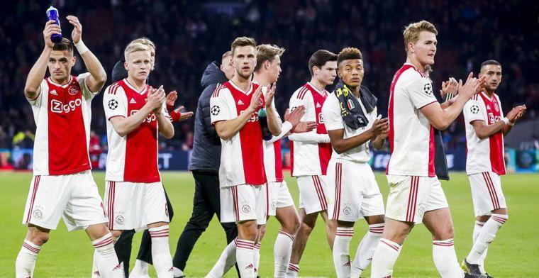 Ajax-supporters balen ook van KNVB: Ik heb het in dertig jaar nooit gehoord