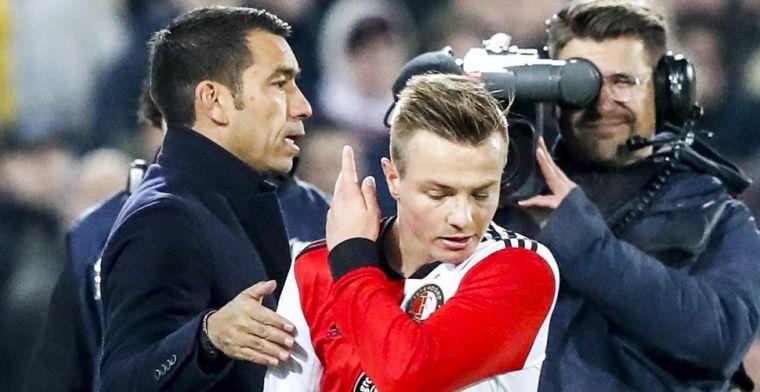 Van Bronckhorst grijpt in en wijst nieuwe vice-aanvoerder aan bij Feyenoord