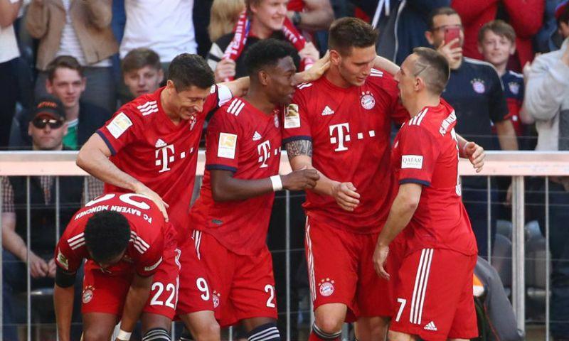 Afbeelding: Ongelukkige Klaassen houdt Bayern München op titelkoers in Bundesliga