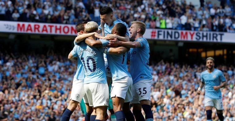 Manchester City neemt revanche op Spurs, maar ziet De Bruyne en Agüero uitvallen