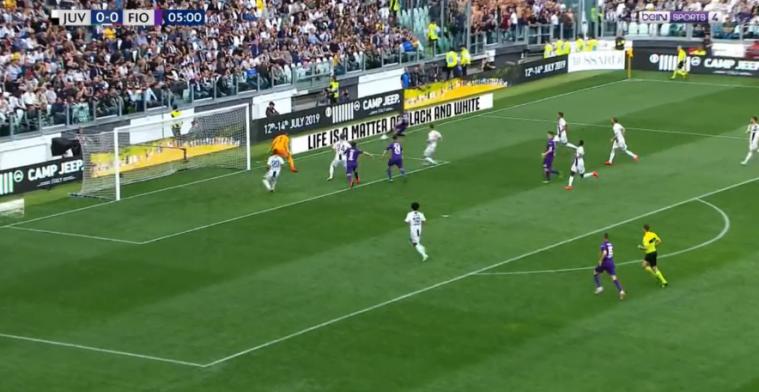 Ajax-tik komt hard aan bij Juventus: snelle tegengoal in kampioenswedstrijd