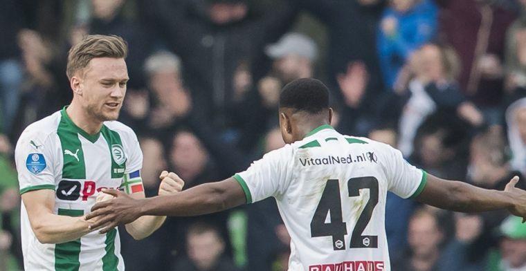 'Handwerker wordt vastgehouden bij de Ajax-goal, die ligt toch niet voor de grap?'