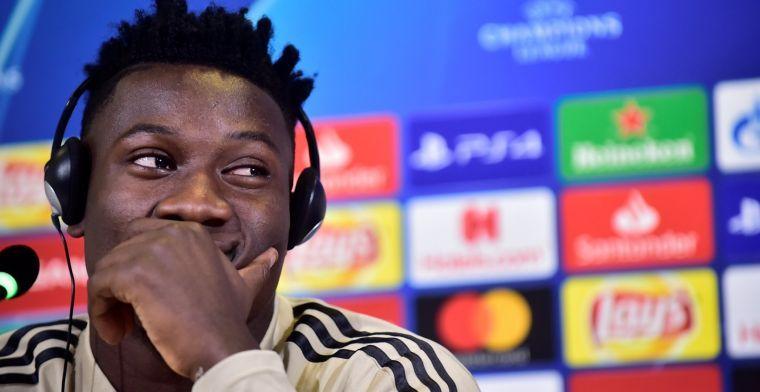 Onana blijft bij Ajax en wacht op teamgenoten: 'Respecteer iedere beslissing'