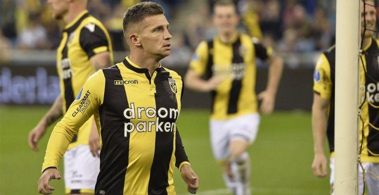 'Kophattrick' van Linssen leidt tiental van Vitesse langs onthutsend zwak PEC
