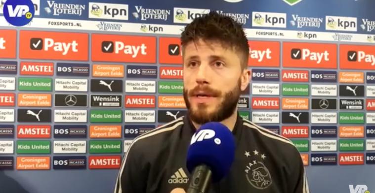 Schöne telt zegeningen met Ajax: Vandaag was hij zo verschrikkelijk belangrijk