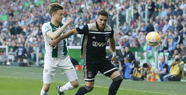 'Bij Ajax zullen ze zeggen dat er niets aan de hand is, dat is logisch'