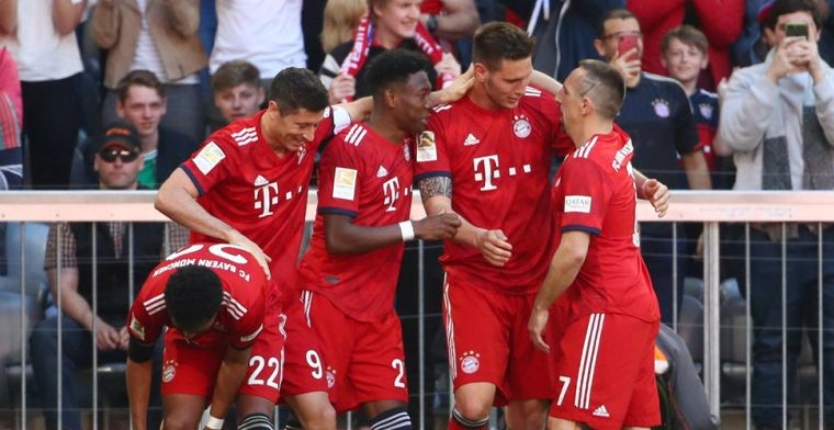 Klaasen eist ongelukkige hoofdrol op bij benauwde zege Bayern München