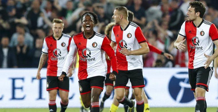 Feyenoord verstevigt derde plaats in rechtstreeks duel met belager AZ