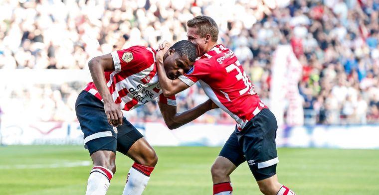 PSV blijft in spoor van Ajax door verdiende zege op lusteloos ADO